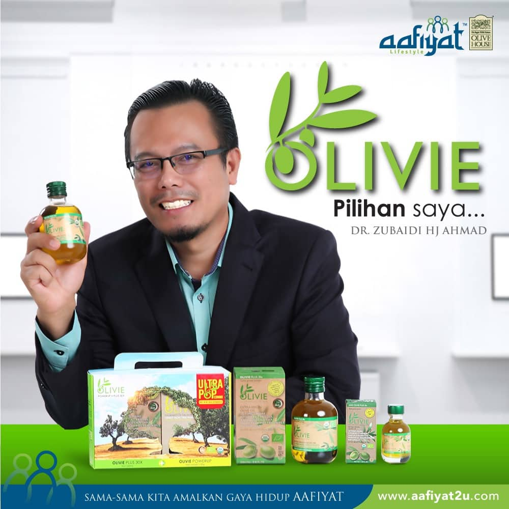 Khasiat Minyak Zaitun Asli Olivie Plus 30x
