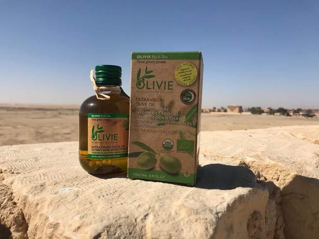 Minyak Zaitun Asli Olivie Plus 30x