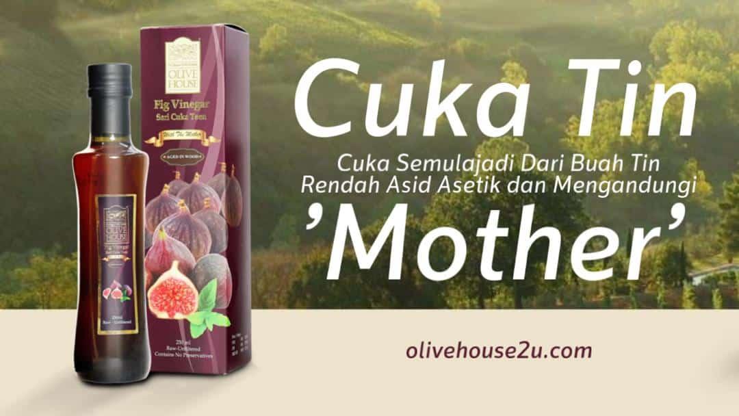 Ketahui Khasiat dan Keistimewaan Cuka Tin Olive House